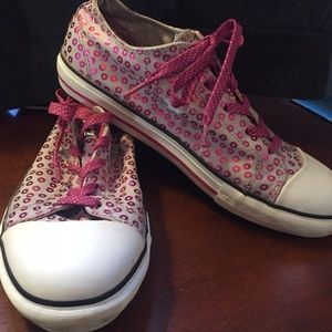 Converse Womens size 6 One Star purple/gray shoes
